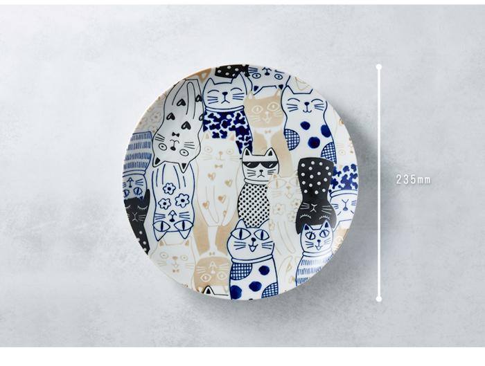 (複製)日本AWASAKA美濃燒 筆青釉繪大碗 - 點打