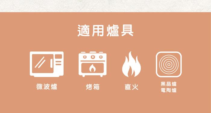 日本萬古燒|輕量土鍋8號-點點橘(1.6L)