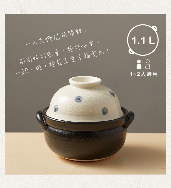 (複製)日本萬古燒|手繪土鍋6號-草莓樂園(0.8L)