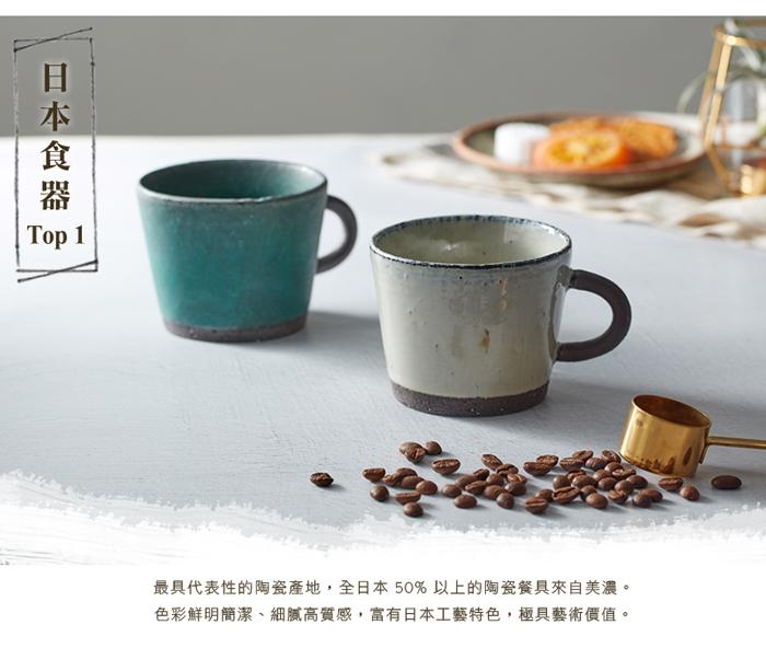 日本KOYO美濃燒 - 圓柄直筒馬克杯 - 乳白