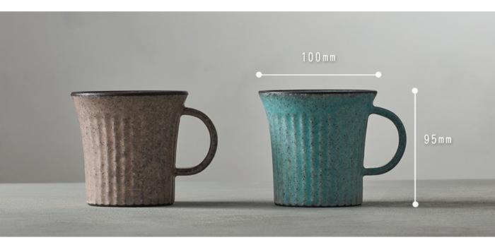 (複製)日本KOYO美濃燒 - 圓柄直筒馬克杯 - 青綠