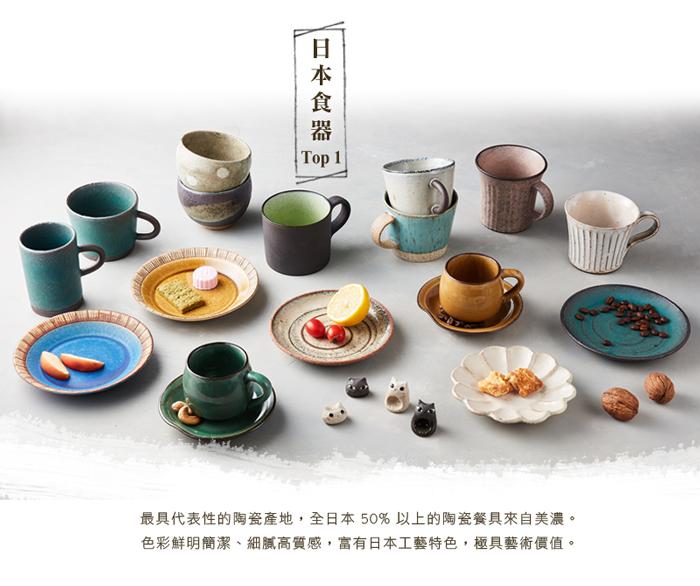 (複製)日本KOYO美濃燒 - 古典雕紋咖啡杯 - 土耳其藍