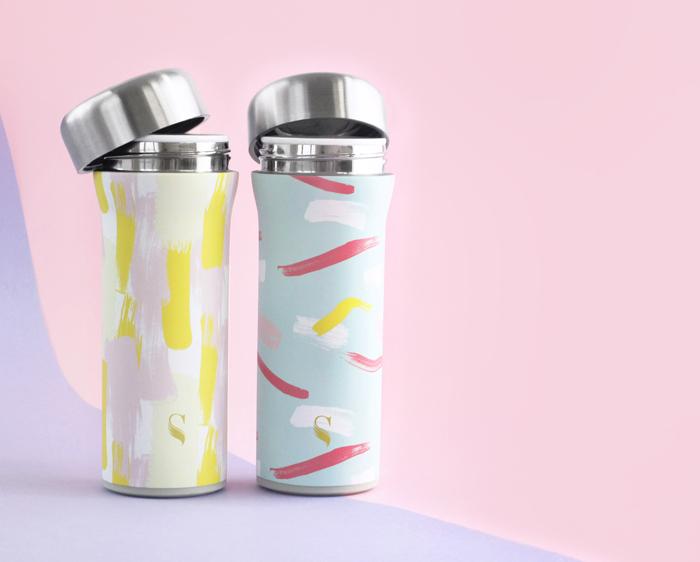 (複製)SWANZ|火炬陶瓷保溫杯(設計款)- 430ml - 輕粉格紋