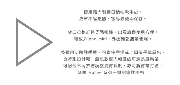 (複製)DTB|Valley 立方單肩包 - 黑