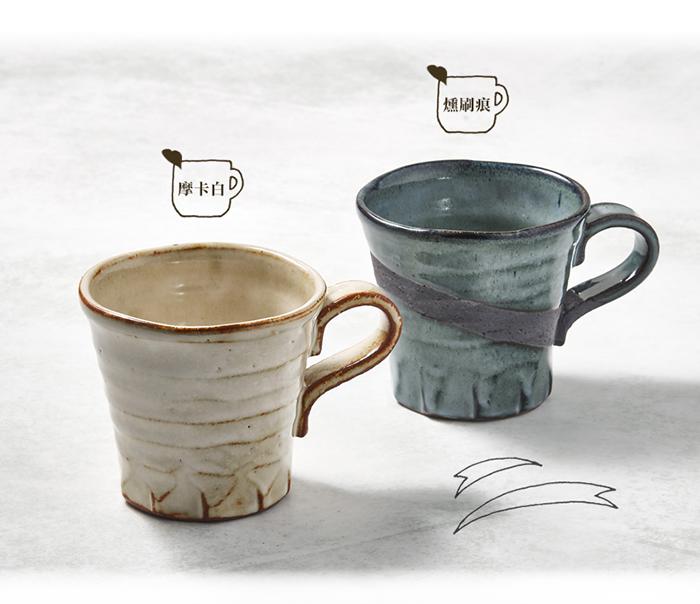 (複製)日本KOYO美濃燒|手感和風茶杯 - 山茶對杯組(2件式)