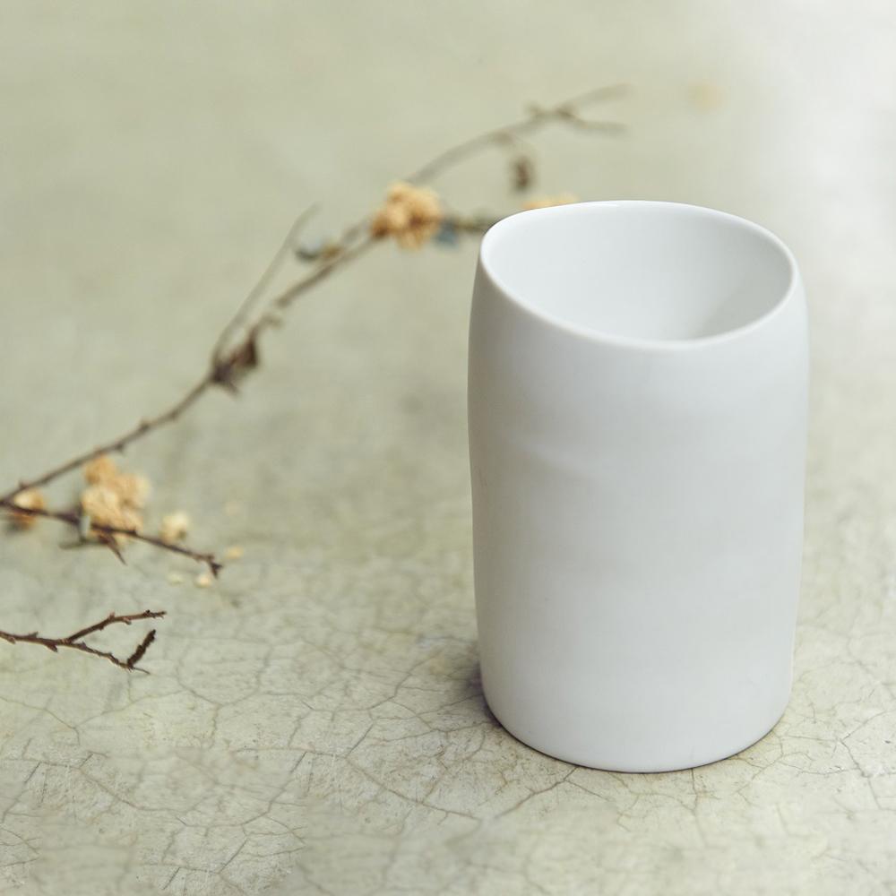 3,co│水波水杯 - 白