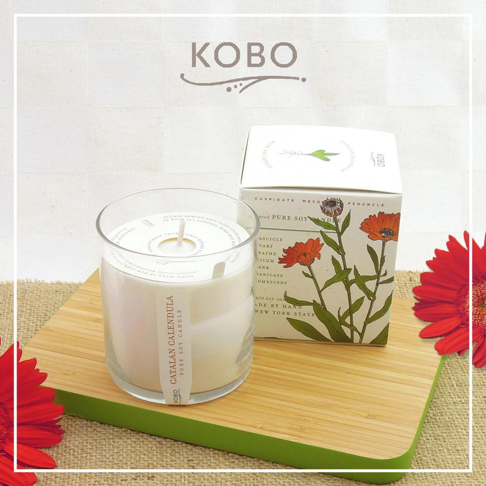 KOBO │美國大豆精油蠟燭 - 幽香金盞 (280g/可燃燒60hr)