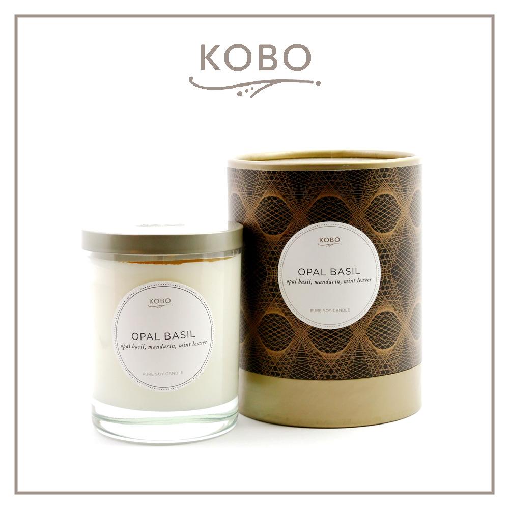 KOBO │美國大豆精油蠟燭 - 紫羅勒 (330g/可燃燒80hr)