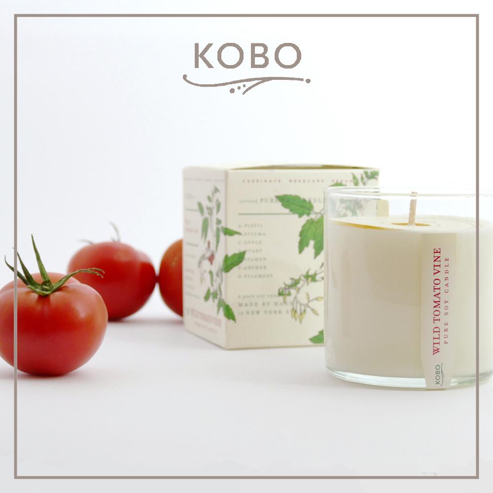 KOBO │美國大豆精油蠟燭 - 藤蔓番茄 (280g/可燃燒60hr)