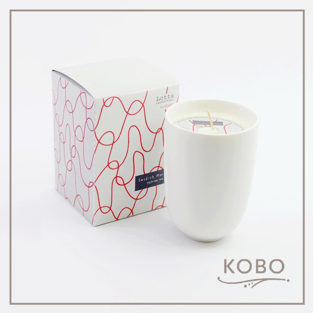 KOBO │美國大豆精油蠟燭 - 瑞典雞尾酒(330g/可燃燒70hr)