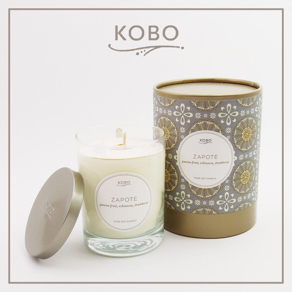 KOBO │ 美國大豆精油蠟燭 - 祕魯之果 (330g/可燃燒80hr)