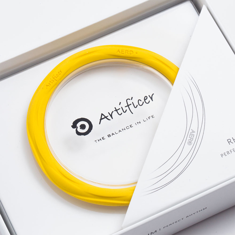 Artificer Rhythm 健康運動手環 - 黃