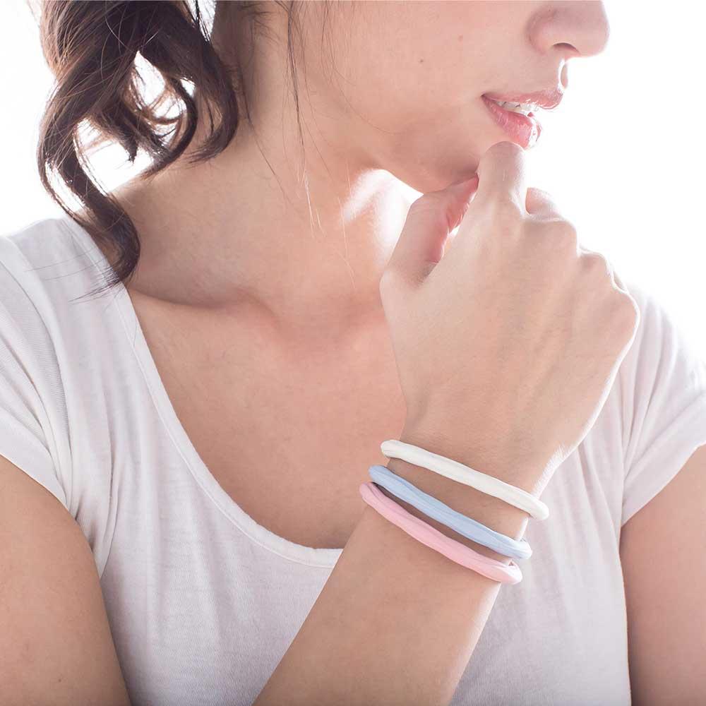 Artificer|Rhythm 健康運動手環 - 粉藍