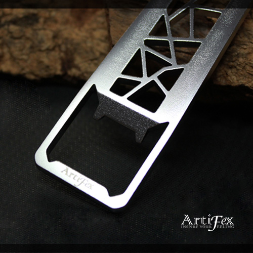 ArtiFex│冰裂紋 I - 口袋物開瓶器 (精裝版)