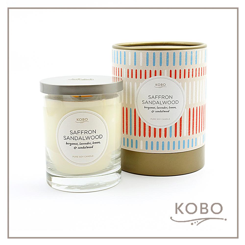 KOBO │ 美國大豆精油蠟燭 - 貴族秘密 (330g/可燃燒80hr)