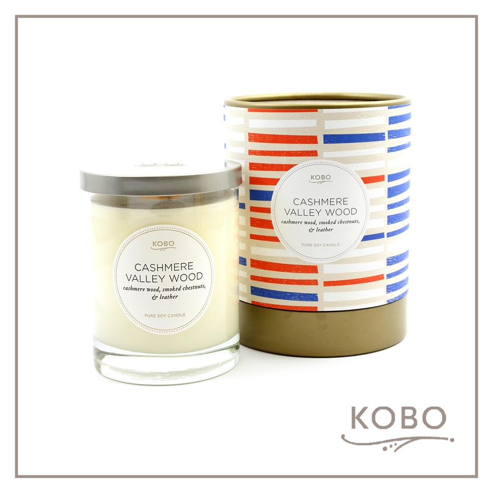 KOBO │ 美國大豆精油蠟燭 - 秋意叢林 (330g/可燃燒80hr)