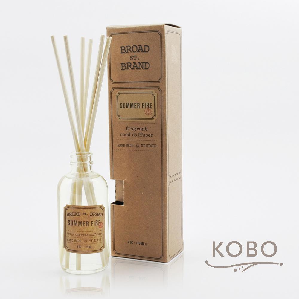 KOBO|美國天然擴香瓶 - 夏日野火 (118ml/香氣維持60天)