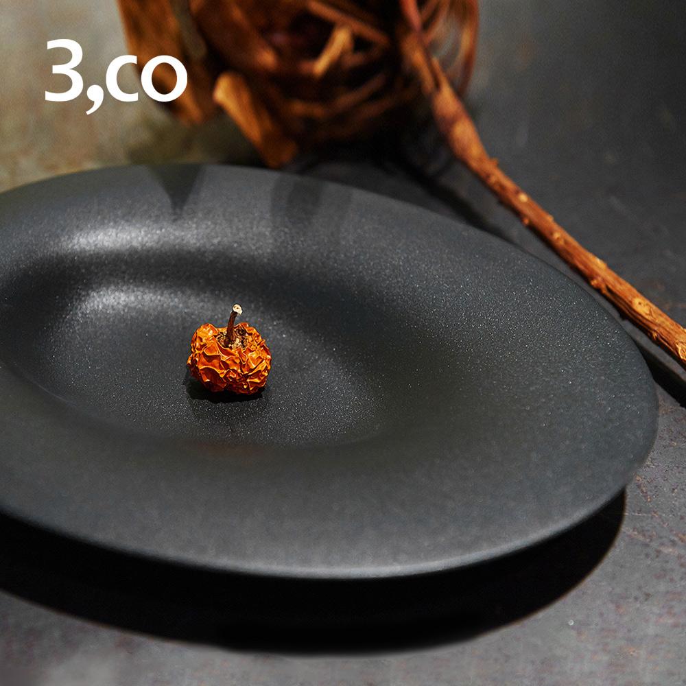 3,co│海洋橢圓盤(小) - 黑