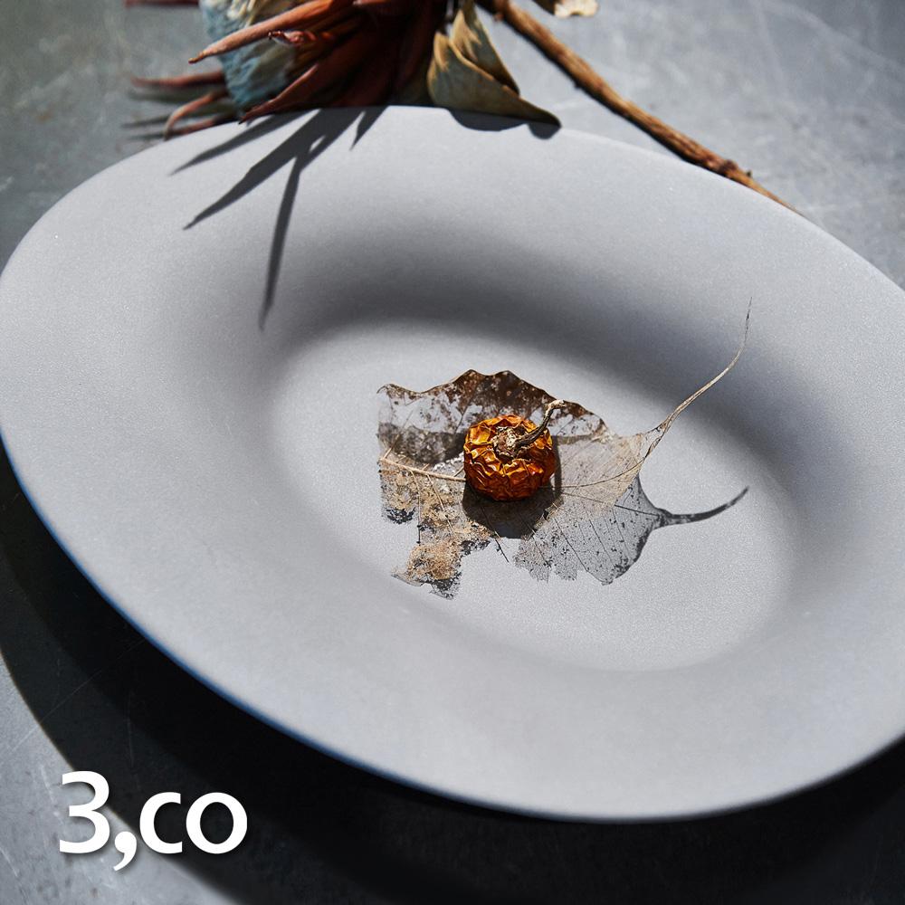 3,co│海洋橢圓盤(大) - 灰