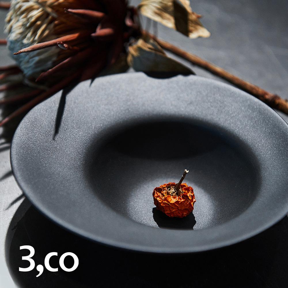 3,co│海洋湯碗(小) - 黑