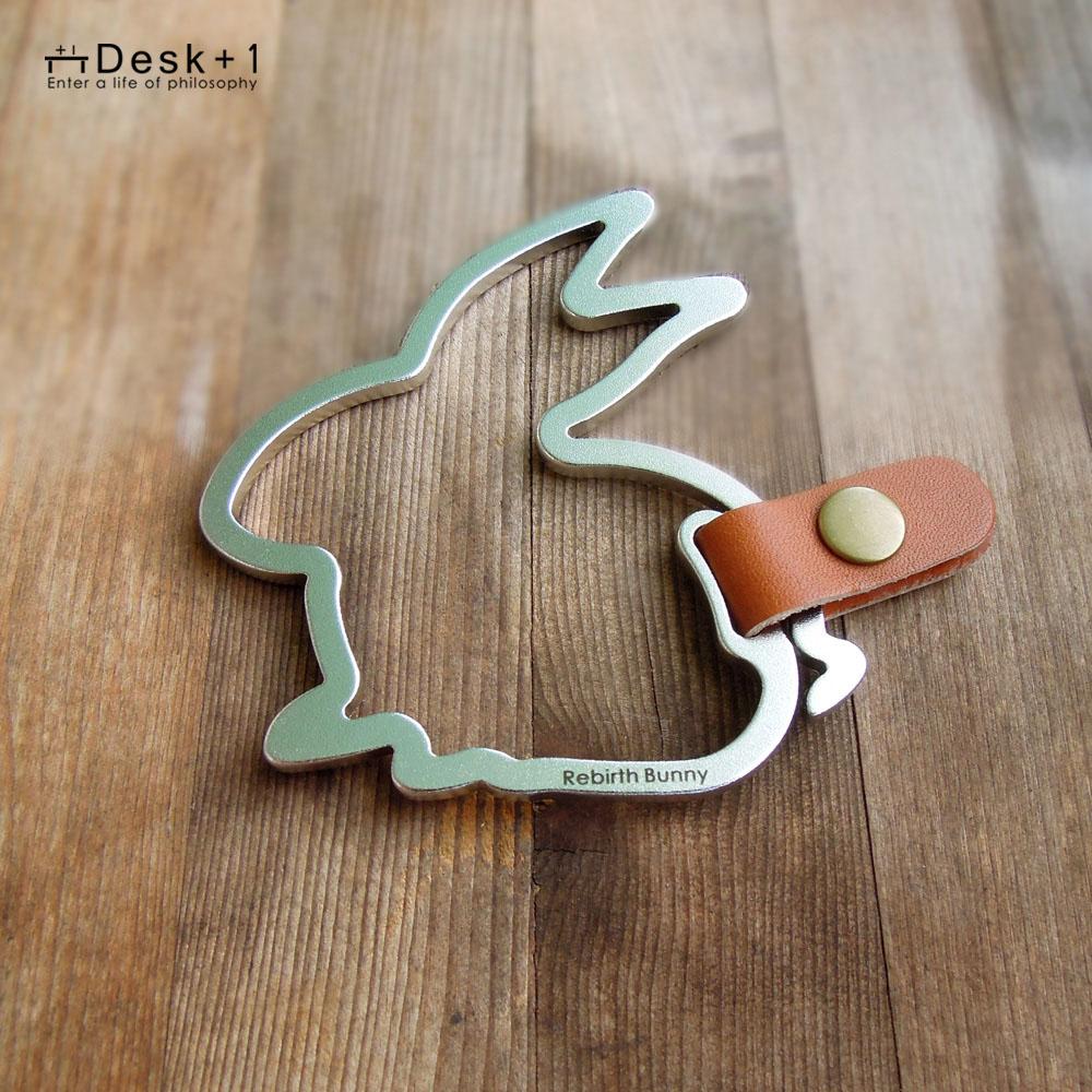 Desk+1|鑰匙圈吊飾(大) - 好運(孕)兔