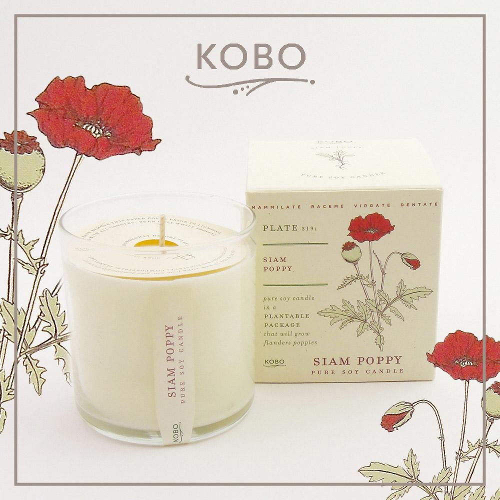 KOBO|美國大豆精油蠟燭 - 迷情美人 (280g/可燃燒60hr)