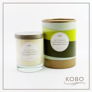 KOBO|美國大豆精油蠟燭 - 佛手柑橘(330g/可燃燒80hr)