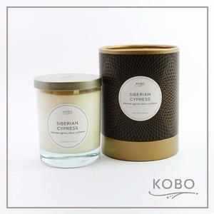 KOBO|美國大豆精油蠟燭 - 西百利亞之柏 (330g/可燃燒80hr)