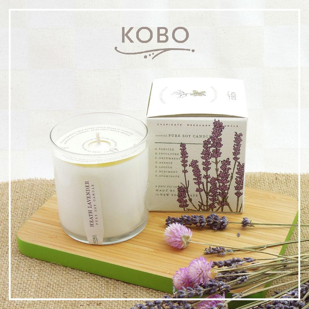 KOBO|美國大豆精油蠟燭 - 浪漫薰香 (280g/可燃燒60hr)