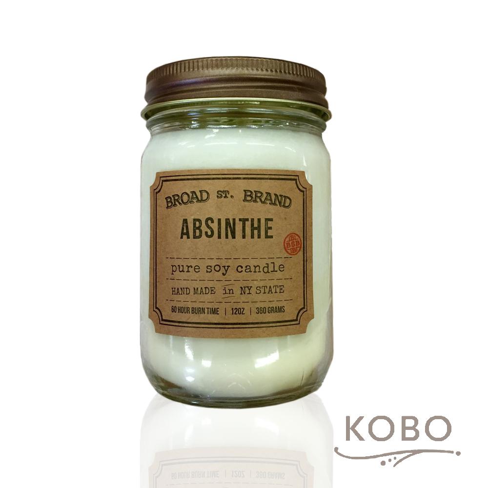 KOBO|美國大豆精油蠟燭 - 苦艾酒 (360g/可燃燒60hr)