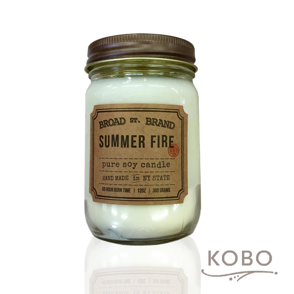 KOBO|美國大豆精油蠟燭 - 夏日野火 (360g/可燃燒60hr)