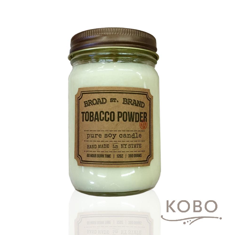 KOBO|美國大豆精油蠟燭 - 爽身粉 (360g/可燃燒60hr)