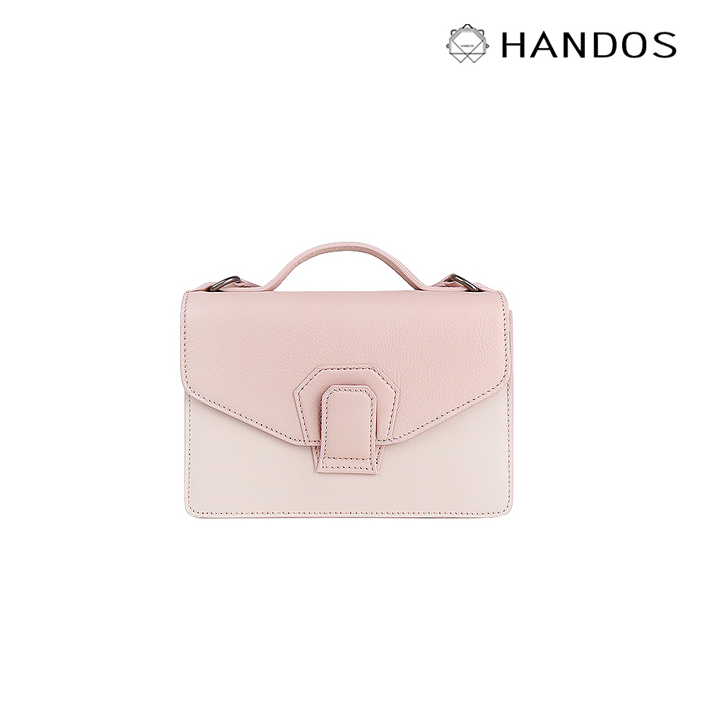 HANDOS|Harmonica 迷你風琴肩背包 -  奶油粉
