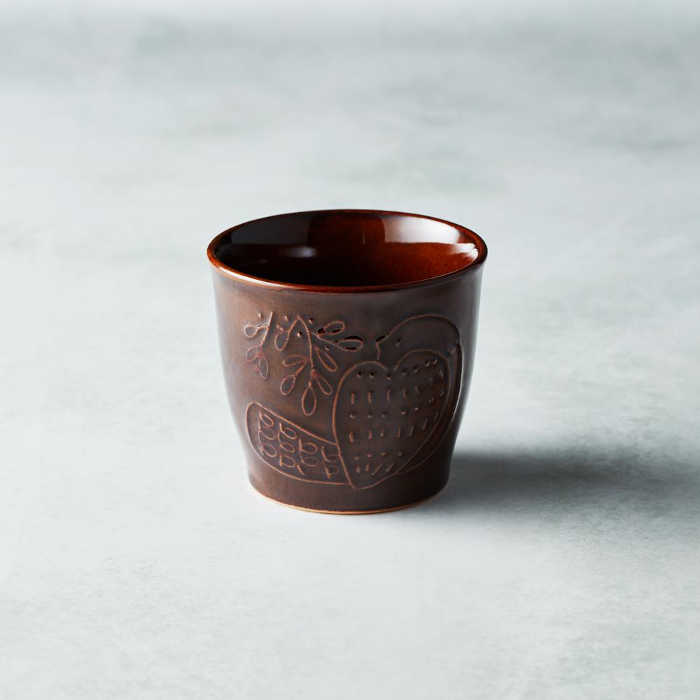 石丸波佐見燒 森之歌陶杯 - 樹咖