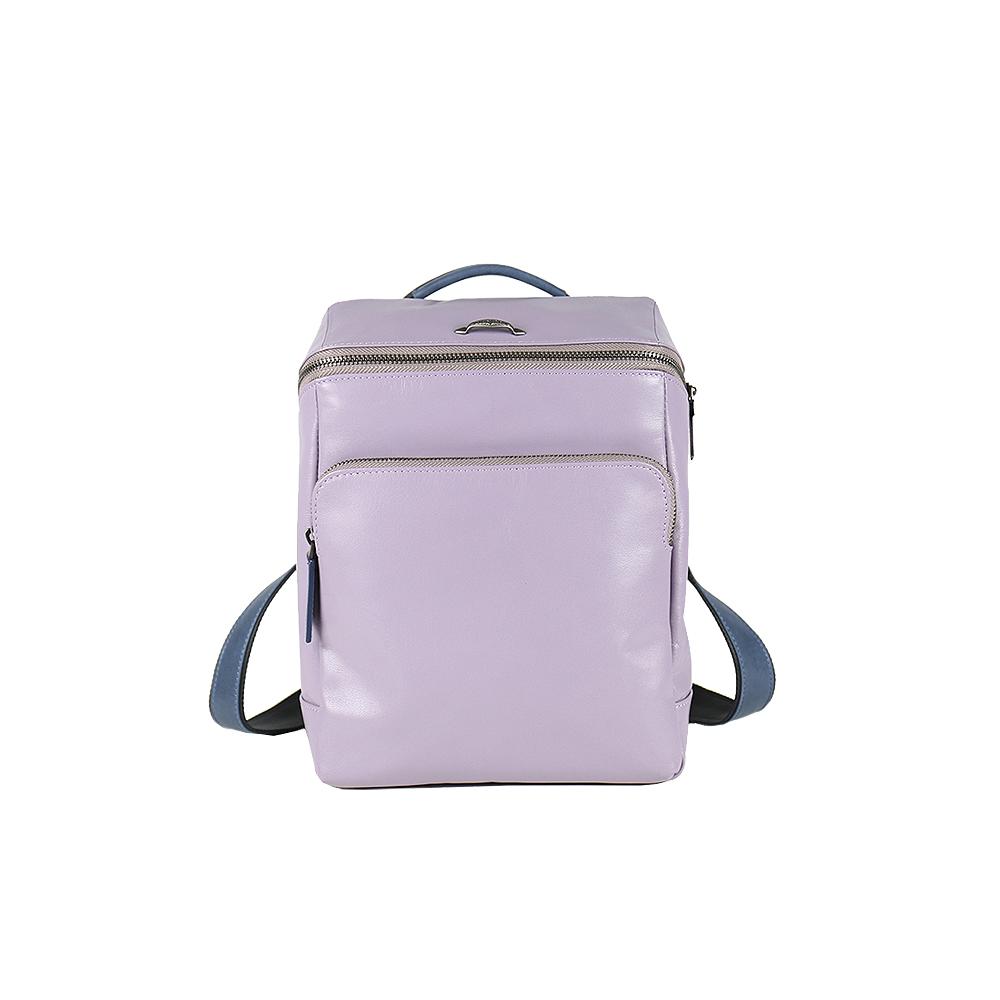 HANDOS|Cosmopolitan 輕巧羊皮時尚後背包 - 粉紫