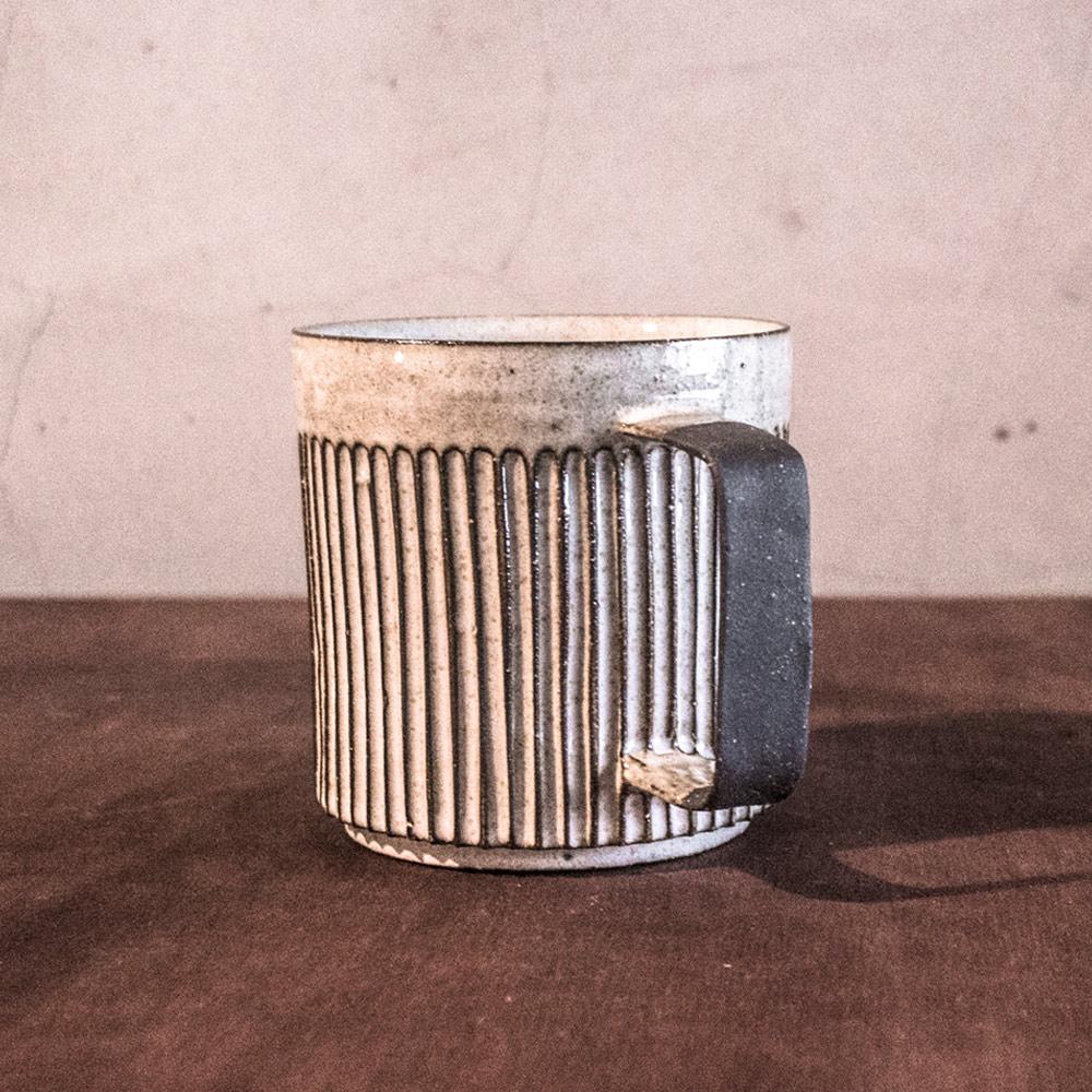 上作美器|無我系列 - 直紋馬克杯(500ml)