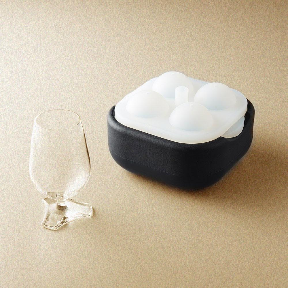 POLAR ICE|極地冰球 2.0 品酌組 - (四入冰球+杯兩件組)