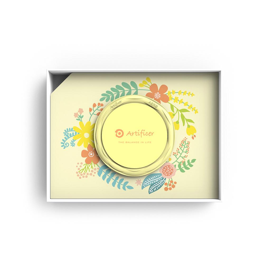 Artificer|Rhythm for Kids 手環 - 小花 (粉黃)