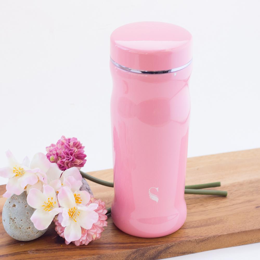SWANZ 曲線陶瓷保溫杯(2色)- 300ml - 雙件優惠組(日本專利/品質保證)