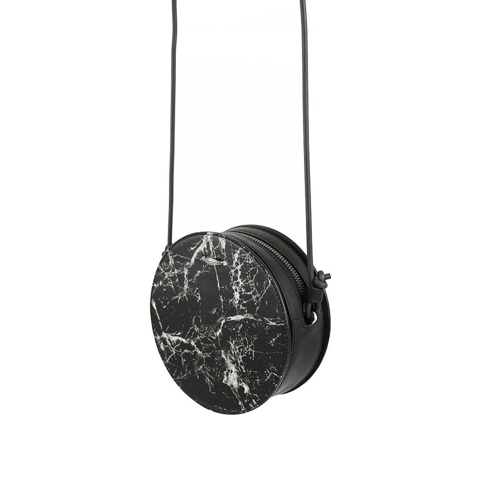 HANDOS|Marie 大理石紋皮革肩背小圓包