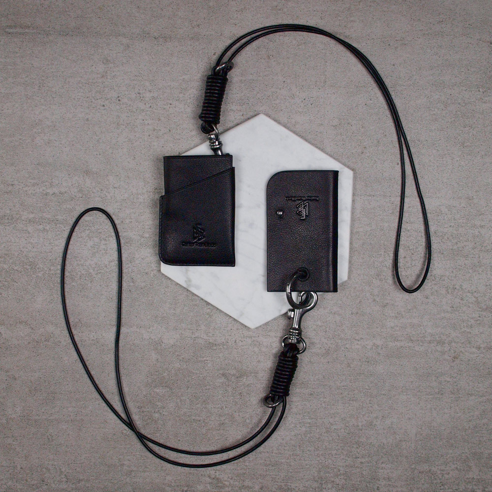 DTB|Key Holder 真皮吊繩鑰匙包禮盒組