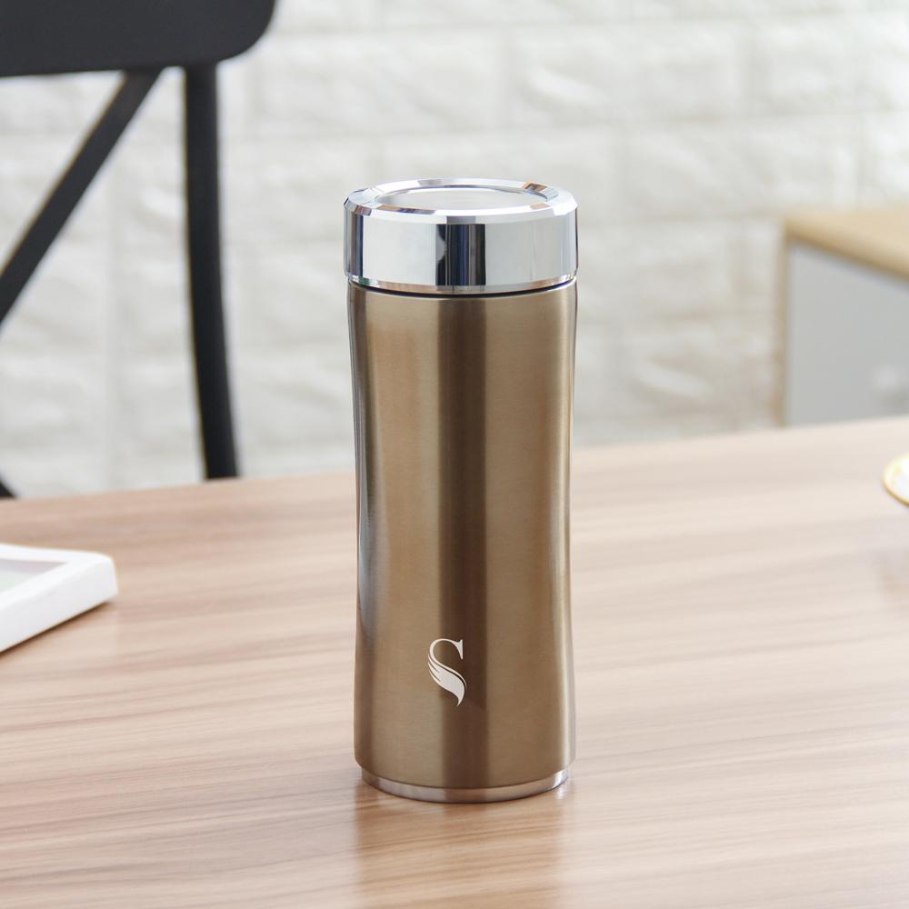 SWANZ|晶粹陶瓷保溫杯(2色) - 360ml (國際品牌/品質保證) - 古銅色