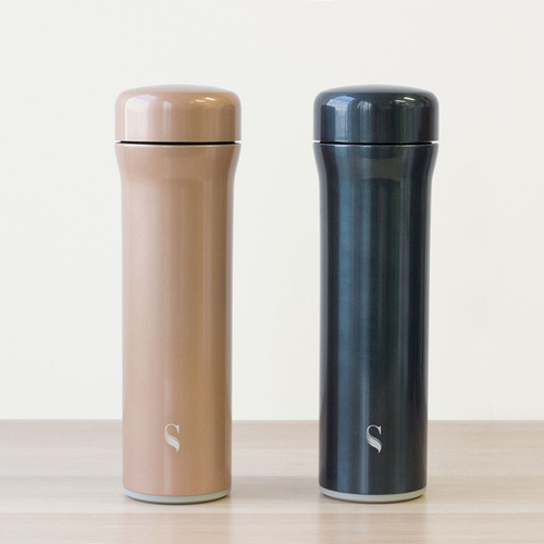 SWANZ|火炬陶瓷保溫杯(3色)- 500ml(國際品牌/品質保證) - 玫瑰金