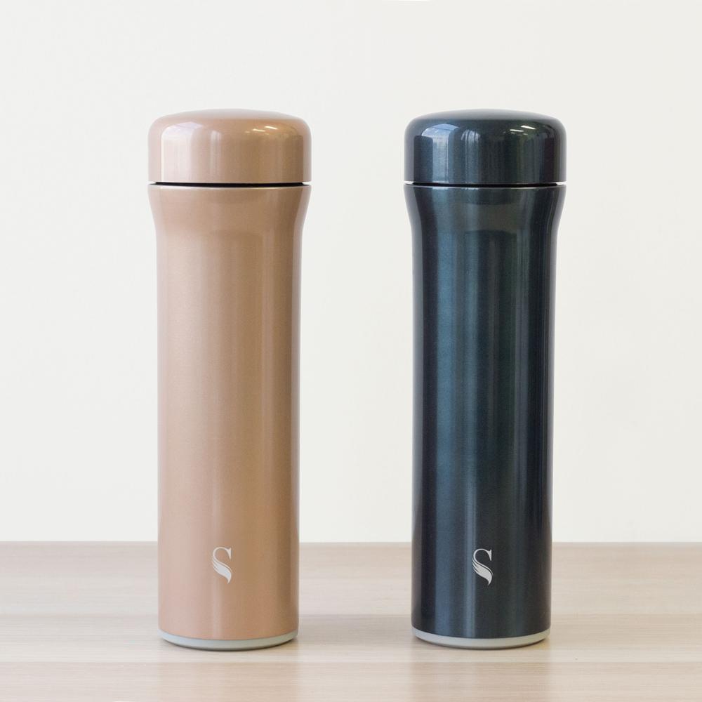 SWANZ|火炬陶瓷保溫杯(3色)- 500ml-雙件優惠組(國際品牌/品質保證)