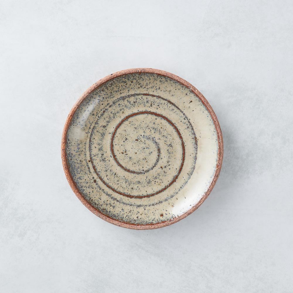 日本KOYO美濃燒  點心小盤 - 乳白