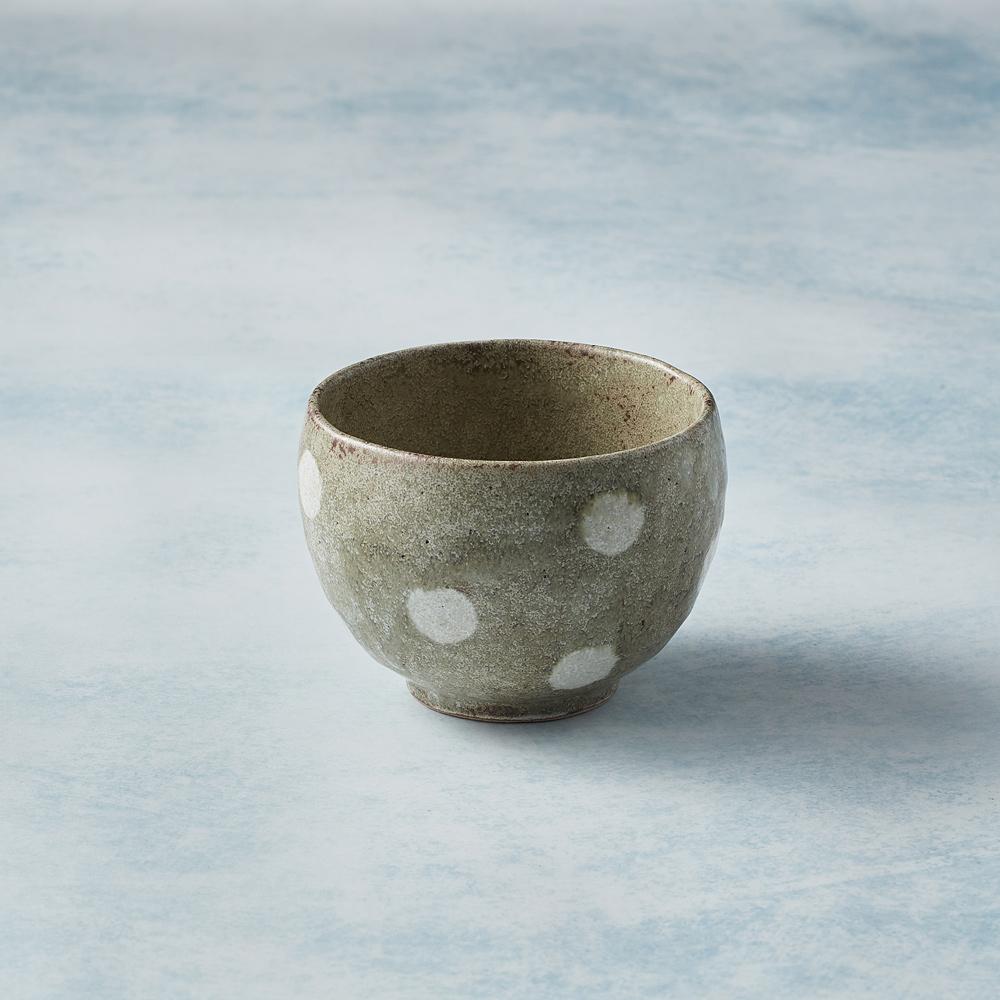 日本KOYO美濃燒|手感和風茶杯 - 水玉點點