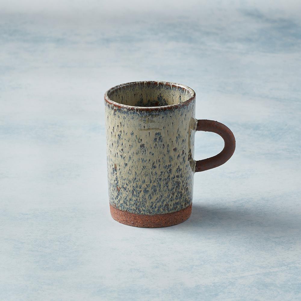 日本KOYO美濃燒|圓柄直筒馬克杯 - 乳白