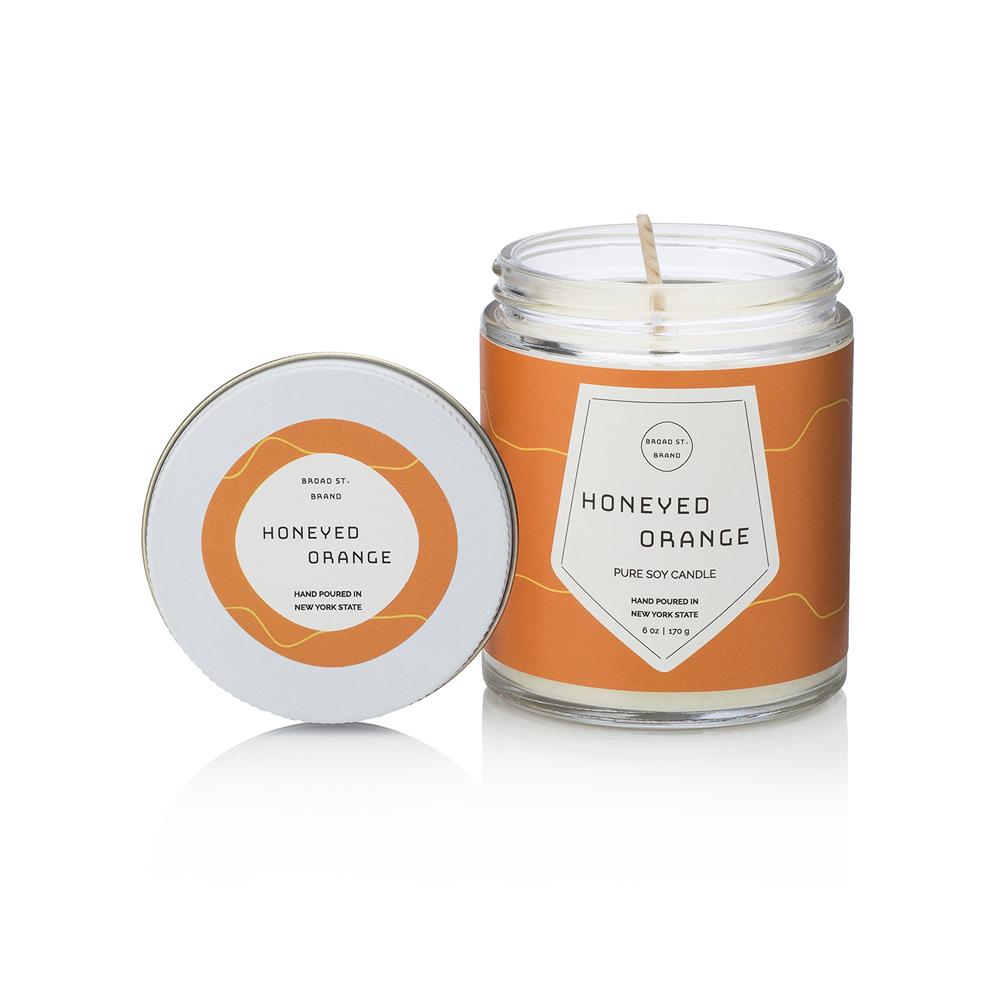 KOBO|美國大豆精油蠟燭 - 蜜香甜橙 (170g/可燃燒 35hr)