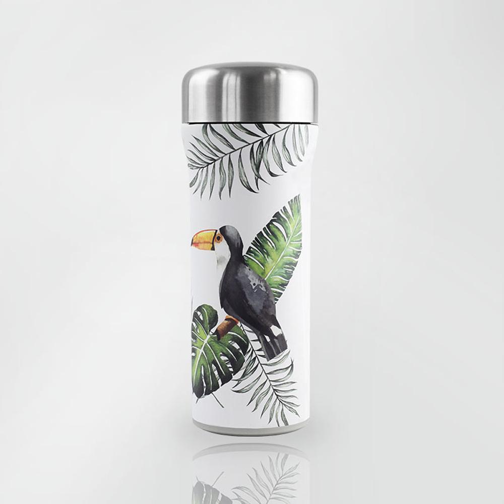 SWANZ|火炬陶瓷保溫杯(設計款)- 430ml - 托哥巨嘴鳥