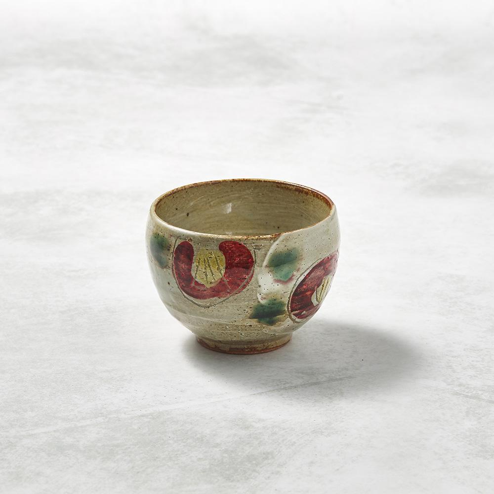 日本KOYO美濃燒|手感和風茶杯 - 山茶花